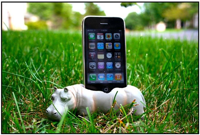 iPhone Hippopotadock
