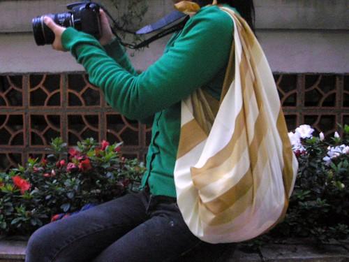 Furoshiki: bolsa de uma alça