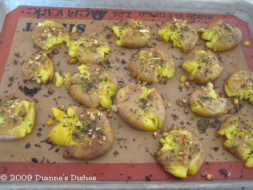 Smash Potatoes: Baked