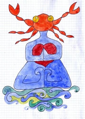 Crab Woman 2009 william vecchietti