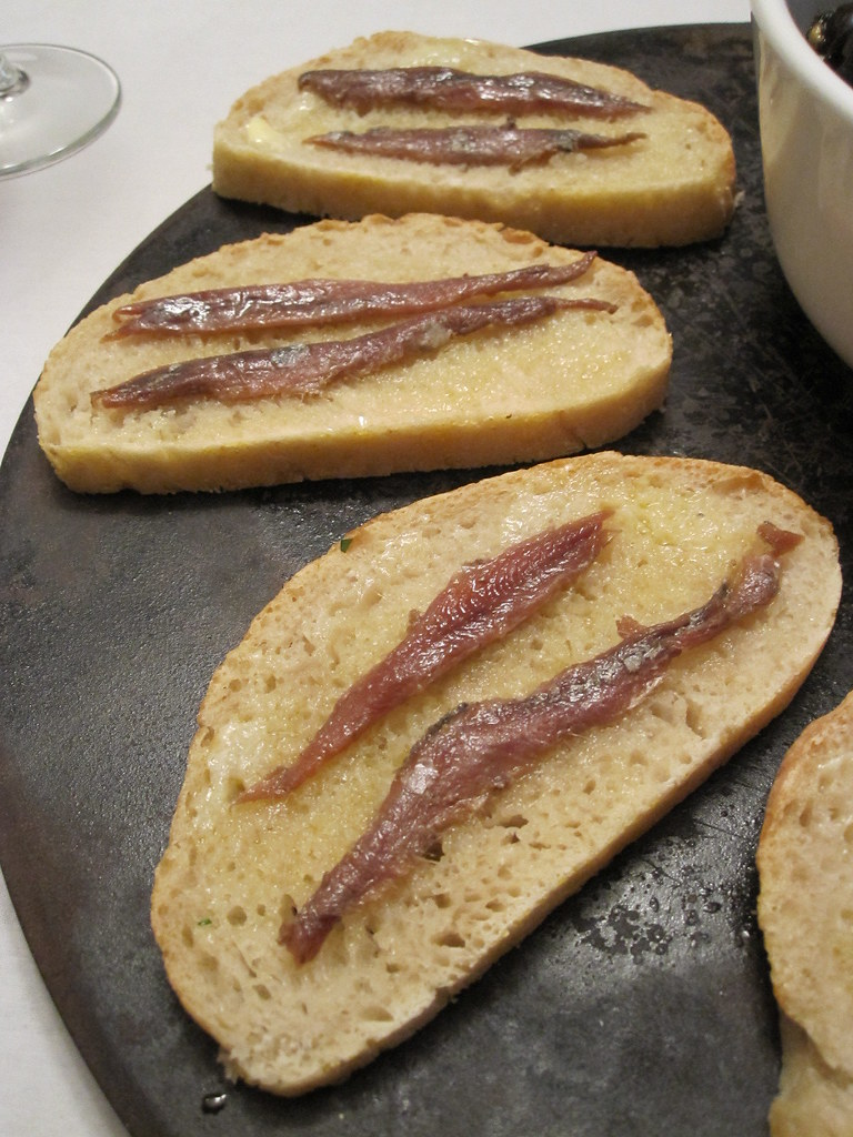 anchovy toast