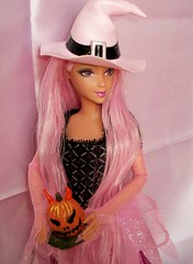 charming  pink  witch (napudollworld) Tags: girls halloween fashion witch ghost barbie scene characters fever