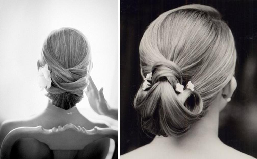 Today's suggestions are some hairstyles to the future brides, but can be