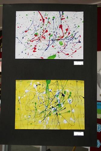Jackson Pollock lesson 3