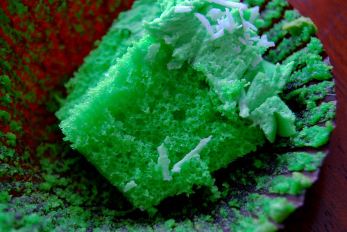 Exotic Buko Pandan opened Cupcakes by Paolo