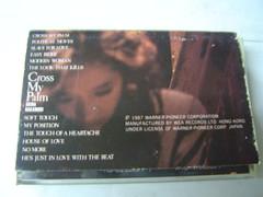 原裝絕版 1987年 中森明菜 Akina Nakamori Cross My Palm  錄音帶 中古品