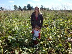 Mom & Lilli In The Pumpkin Patch