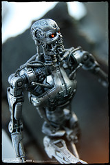T2_Endoskeleton (EdwardLee's collection) Tags: canon movie toy toys actionfigure robot day collection terminator 18 judgment t2 neca t800 endoskeleton 400d edwardlees
