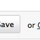 PBworks Save or Cancel buttons