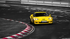 Z06. (Denniske) Tags: yellow jaune canon eos is september gelb giallo l mm dennis corvette geel 70200 f28 ef 6th fahren c6 z06 noten cornering nurburgring lseries touristen llens brünnchen fahrten 40d touristenfahrten denniske dennisnotencom nürburgringnordschleife06092009bydennisnotencom