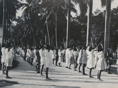 School Children in Calisthenics