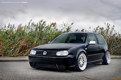 Cynthia's GTI (david.tormey) Tags: canada black fall dave vw studio md september gti oceancity cynthia tormey 2009 volkwagen cyn h20 18s mkiv ccw jrx ab800 h20i nikond300 radiopopper lm20s memoryfab:car=82 memoryfab:wheelsnew=866