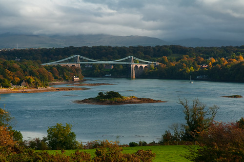 Menai Bridge, North Wales