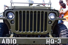 CD188 Willys Jeep (listentoreason) Tags: color green history canon airport jeep military wwii engineering airshow event worldwarii willys militaryhistory militaryvehicle civilengineering ef28135mmf3556isusm score25 willysjeep n87 groundforces militarytheater willysmb trentonrobbinsvilleairport
