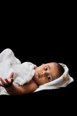 MOHEB (irfan cheema...) Tags: pakistan boy portrait baby face eyes bath child shanghai son towel moheb irfancheema familygetty2010