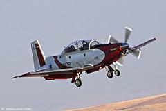 IAF Flight Academy Texan II T-6A  Israel Air Force (xnir) Tags: canon photography eos israel is photographer force aviation air flight ii academy raytheon  texan lark nir t6a  iaf 100400l benyosef 100400 50d     xnir   idfaf efrony  photoxnirgmailcom