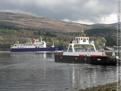 Hebridean Princess and MV Corran