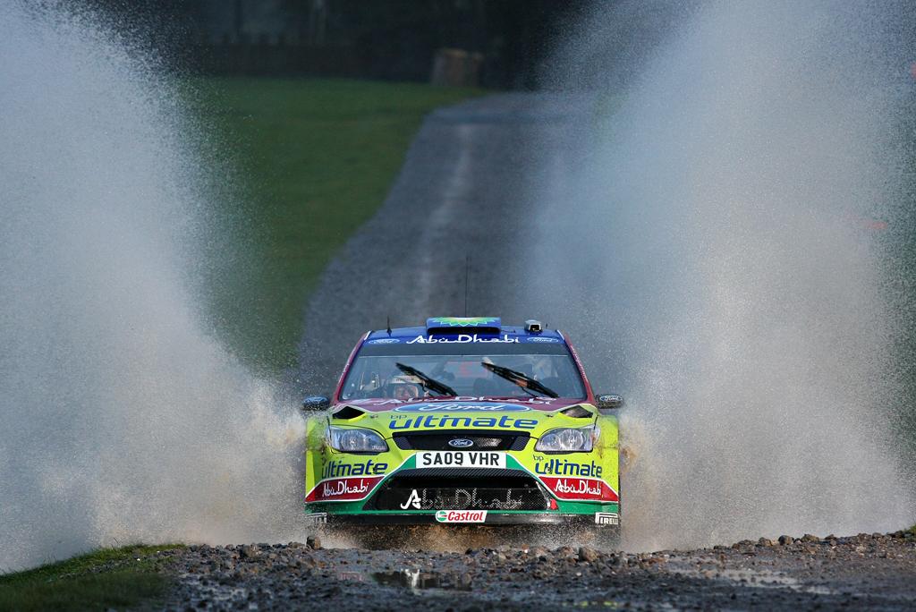 Mikko Hirvonen / Jarmo Lehtinen - Ford Focus WRC
