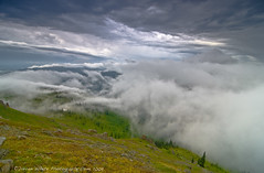 Chaos in the Clouds (Darren White Photography) Tags: storm nature weather fog clouds nikon northwest peak summit pacificnorthwest washingtonstate silverstar d300 electricalstorm weatherrelatedevents