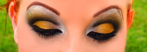 New Orleans Saints inspired eyes 4