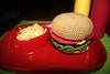 Hamburguesa completa (cluckin) Tags: food cheese tomato ketchup burger comida crochet queso softie hamburguesa amigurumi tomate ganchillo
