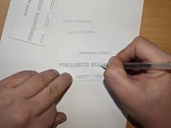 Maquette Attelier (joostmarcellis) Tags: typography bureau font type typo maquette brouwersgracht typografie vormgeving modelbouw maquettebouw maquetteatelier joostmarcellis marcelvandenberg marcelvandenberggrafischontwerp