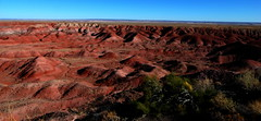 The Painted Desert at the Petrified Forest National Park, Navajo, Arizona