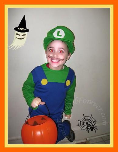 Vampire Luigi