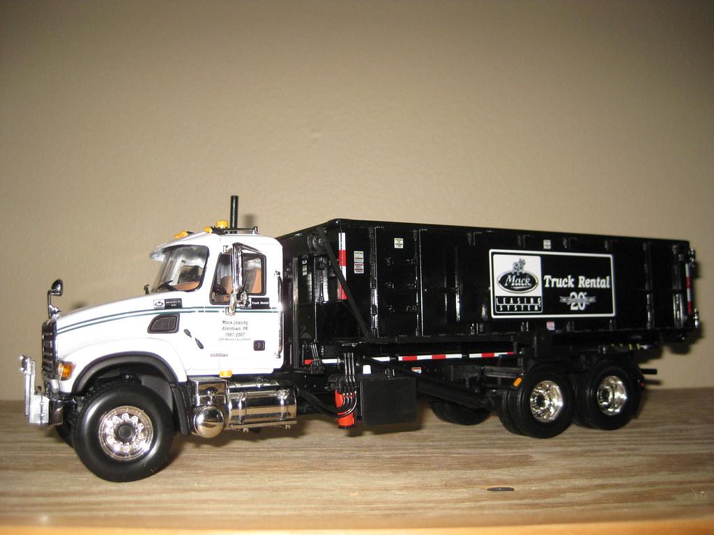 Mack Truck Rental #0088 1st Gear Mack CV (Granite) Roll-off