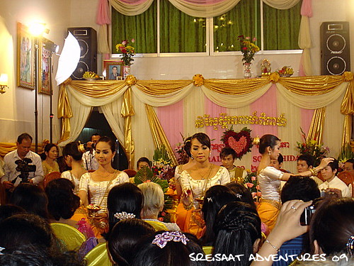 Khmer wedding ritual 3