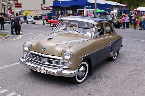 1956 Vauxhall Cresta.