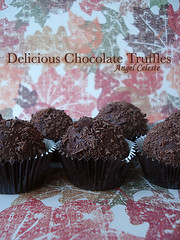 Chocolate Truffles (kopns) Tags: thanksgiving dark candy sweet chocolate shaved delicious homemade truffle ghirardelli 60 chocolatetruffles decadent milkchocolate dipped semisweetchocolate angelceleste
