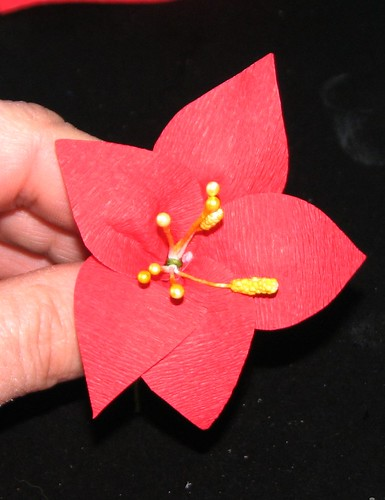 #12 - Crepe Paper Poinsettia 013