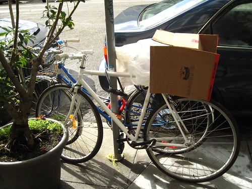 Bike in the box.