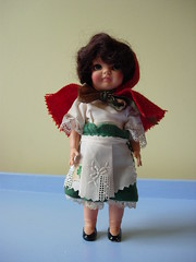 sweet irish girl (maximum RABBIT designs) Tags: vintagedoll rosebuddoll irishdoll rosebuddolls