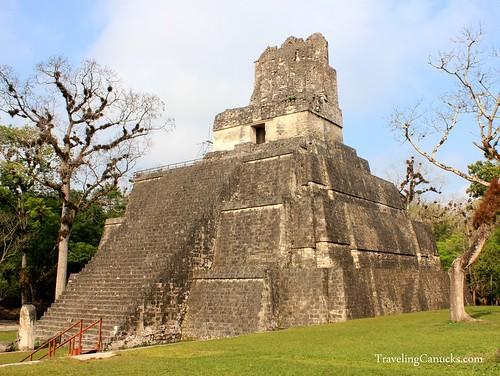 Temple 2 in Tikal, Guatemala