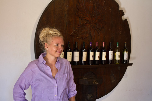 Helene at Bodega Nanni