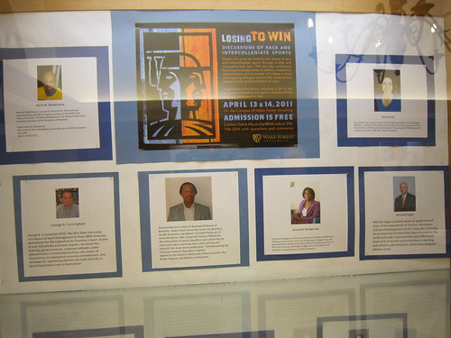 Sports and Race exhibit