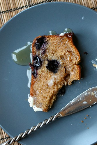 Blueberry-Lemon Graham Bread