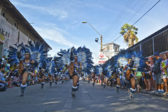 Bloque Guerreras (Vale Leon) Tags: chile dance baile gruop tobas folclore patada girls mujeres guerreras car carnaval de arica
