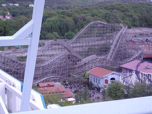 Balder - wooden roller coaster