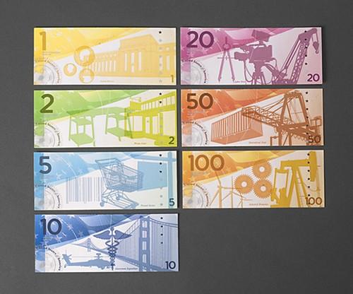 不靠谱的新版美元设计欣赏[10P] | Jandan.net