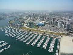 Downtown Long Beach and Marina