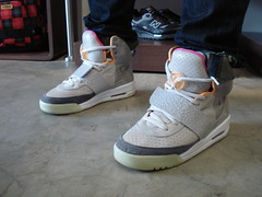 Nike Air Yeezy visits Maze (Maze Skateshop) Tags: west air nike maze skateshop kanye yeezy