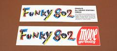 FM802のバンパーステッカー 1989〜91年 おもて