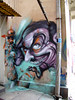 character (mrzero) Tags: art wall graffiti hostel paint sofia character spray bulgaria graff mrzero ironlak obieone