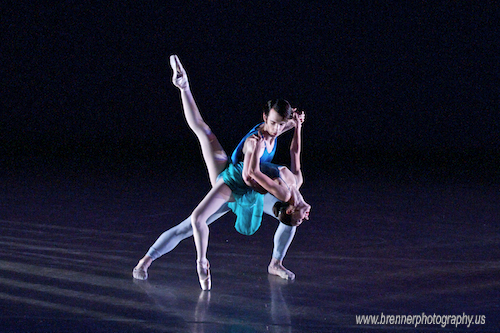 Ballet Dancers in Performance at UC CCM Spring Dance Concert 2009.