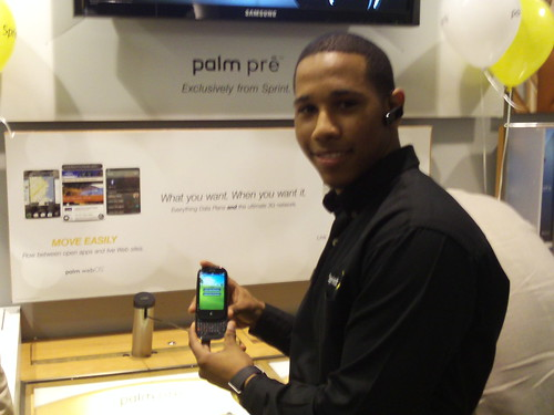 Showcasing the Palm Pre