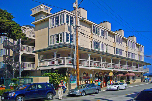 The Spindrift Inn on Cannery Row