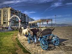 How about a tour in Izmir ... (Nejdet Duzen) Tags: trip travel horse turkey square tour apartment trkiye tur apartman izmir alsancak phaeton fayton meydan kordon turkei seyahat gndodu mywinners abigfave